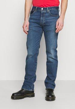 Levi's® - 501® LEVI'S® ORIGINAL FIT UNISEX - Straight leg jeans - med indigo