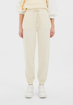 Stradivarius - Jogginghose - white