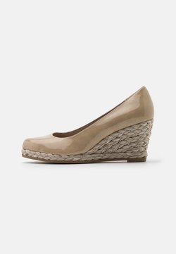 Marco Tozzi - Zapatos de plataforma - dune