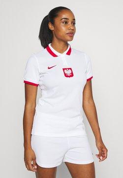 Nike Performance - POLEN - Voetbalshirt - Land - white/sport red