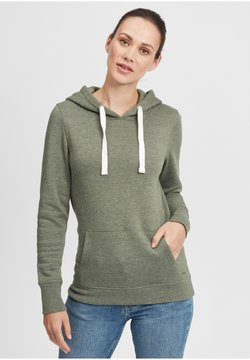 Oxmo - HOODIE OLIVE - Sweater - clim ivy