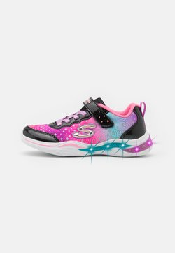 Skechers - POWER PETALS - Matalavartiset tennarit - black/multicolor
