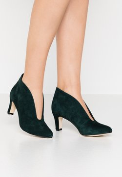 Anna Field - LEATHER ANKLE BOOTS - Ankle Boot - dark green