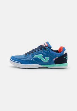 Joma - TOP FLEX - Indoor football boots - royal/turquoise