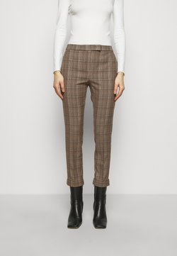 MAX&Co. - DINTORNO - Stoffhose - beige pattern