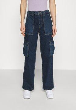 BDG Urban Outfitters - COLOURBLOCK SKATE - Relaxed fit -farkut - dark vintage