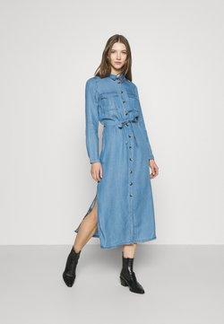 ONLY - ONLCASI LIFE  - Maxi-jurk - medium blue