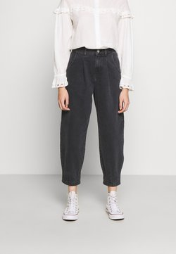 New Look Petite - BETTY BARRELL BALLON LEG UNITED - Relaxed fit jeans - black