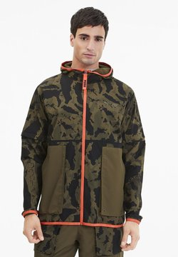 Puma - FIRST MILE - Laufjacke - burnt olive