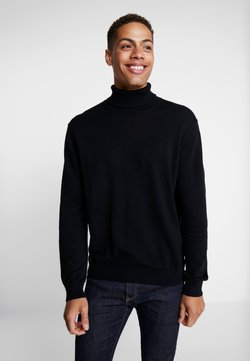 Esprit - ROLLNECK - Strickpullover - black