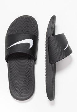 Nike Performance - KAWA SLIDE UNISEX - Sandales de bain - black/white