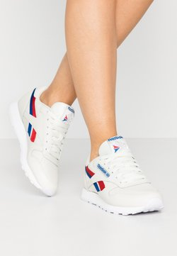 Reebok Classic - CLASSIC  - Sneaker low - chalk/red/blu