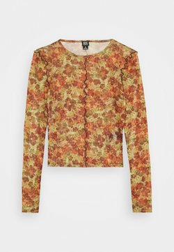 BDG Urban Outfitters - LEAVES CROP - T-shirt à manches longues - orange