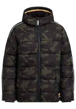 WE Fashion - MIT CAMOUFLAGEPRINT - Talvitakki - army green