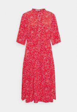 Glamorous Curve - TIE WAIST SHIRT DRESS - Sukienka koszulowa - red