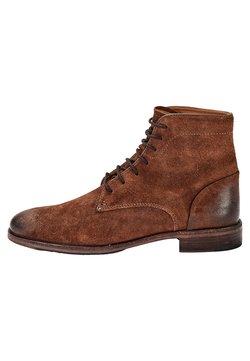 Crickit - SCHNÜRSCHUH CHARLIE BOOTS - Schnürstiefelette - dark brown