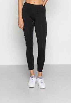 adidas Originals - ADICOLOR TREFOIL TIGHT - Leggingsit - black