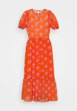 Never Fully Dressed Tall - SIENNA FLORAL DRESSES - Maxikleid - orange