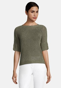 Betty Barclay - MIT 3/4 ARM - T-Shirt basic - dusty olive