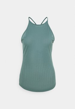 Nike Performance - POINTELLE TANK - Funktionsshirt - hasta/dark teal green