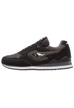 KangaROOS - RACER - Sneaker low - jet black/steel grey