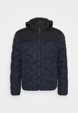 camel active - JACKET WITH HOODY - Winterjacke - navy