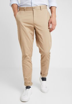 Casual Friday - PANTS PELLE - Chino - silver mink