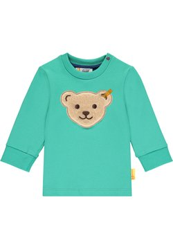 Steiff Collection - HIGH FIVE MIT KLASSIKER BÄR - Sweater - winter green