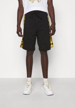 Versace Jeans Couture - PRINT LOGO BAROQUE - Jogginghose - black