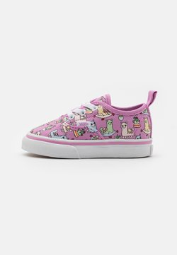 Vans - AUTHENTIC ELASTIC LACE - Matalavartiset tennarit - orchid/true white