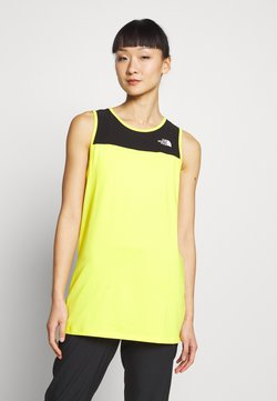 The North Face - WOMENS ACTIVE TRAIL TANK - Funktionsshirt - lemon