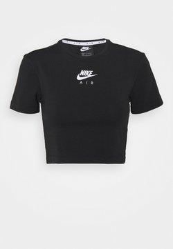 Nike Sportswear - AIR - T-shirt print - black/white