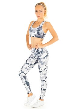 Winshape - FUNCTIONAL POWER SHAPE - Tights - camo white