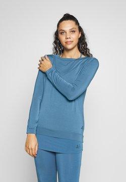 Curare Yogawear - Pitkähihainen paita - horizon blue
