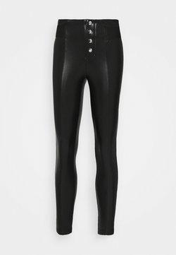 ONLY Petite - ONLZABO BUTTON - Leggings - Hosen - black
