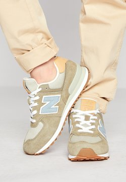 New Balance - PC574NT2 - Matalavartiset tennarit - green