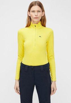J.LINDEBERG - LAURYN  - Funktionsshirt - banging yellow