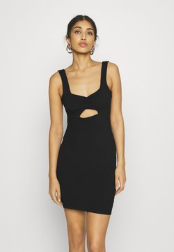 Even&Odd - Sukienka etui - black