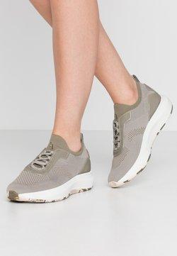 Tamaris Fashletics - LACE-UP - Sneakers laag - light olive