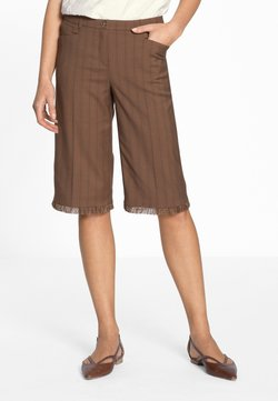 MADELEINE - Shorts - dark brown
