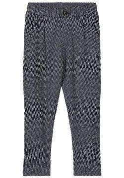 Name it - GEMUSTERTE - Pantalón de traje - dark sapphire