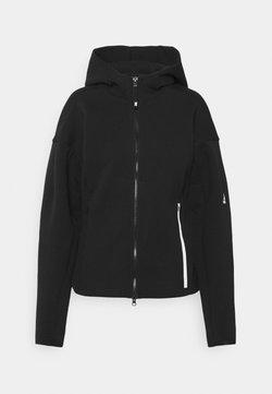 adidas Performance - Felpa con zip - black