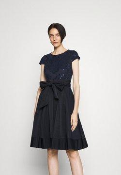 Lauren Ralph Lauren - ZIARAH CAP SLEEVE DRESS - Cocktailkleid/festliches Kleid - lighthouse navy