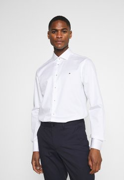 Tommy Hilfiger Tailored - SOLID SLIM FIT - Camicia elegante - white