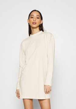 Missguided - BASIC DRESS  - Vestido ligero - stone