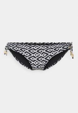 watercult - WATERCULT ETHNO - Bikini-Hose - black