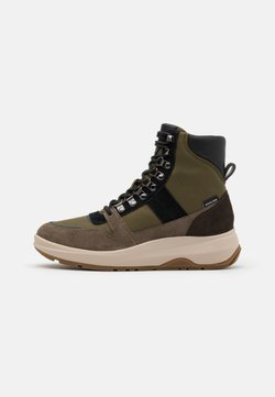 Michael Kors - ASHER BOOT - Schnürstiefelette - olive