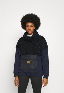 G-Star - CARLEY HIGH COLLAR LONG SLEEVE - Sweatshirt - mazarine blue