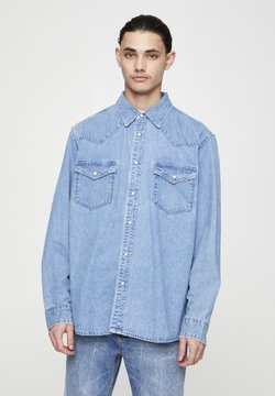 PULL&BEAR - Koszula - mottled light blue