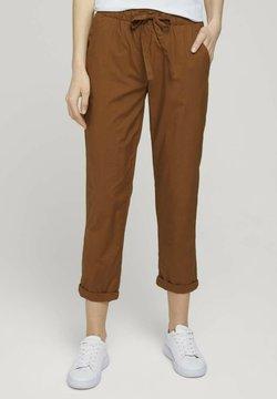 TOM TAILOR - Jogginghose - caramel brown